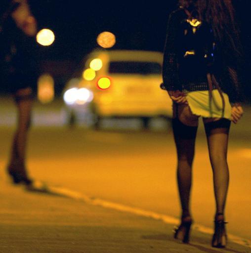 gesprek met prostituee