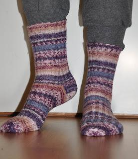 Varme sokker for kalde føtter