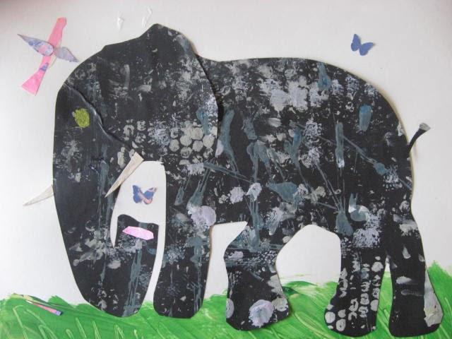 Marymaking Elephant Collage Remix