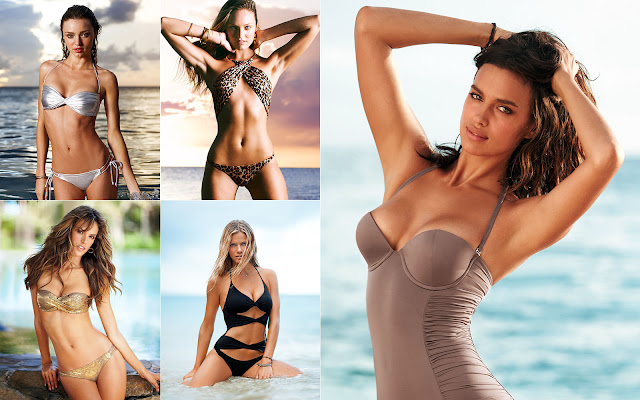 vsmodels eyeprime 33 Victorias Secret SWIM Catalogue 2010