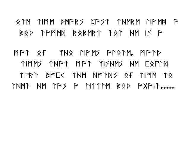 misterious interior: Runes