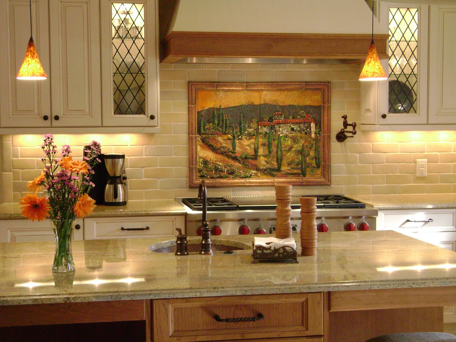 Modern Tuscan Kitchen