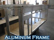 Aluminum Frame Aluminum Frame Pop Up Truck Campers