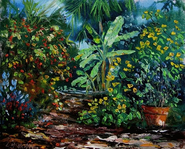 Heathcote Botanical Gardens: Lori's Stormy Art And Daily Paintings: Daily Painting 956