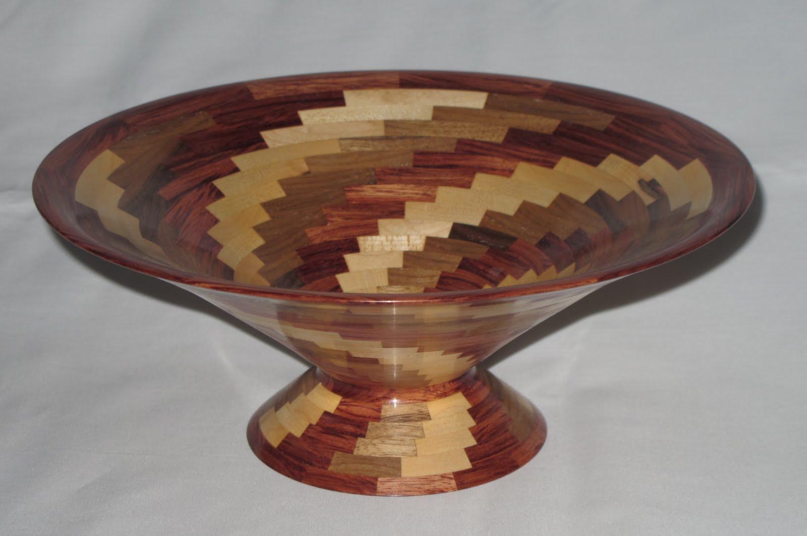 Segmented Wooden Vases Amp Bowls Segmented Maple Walnut