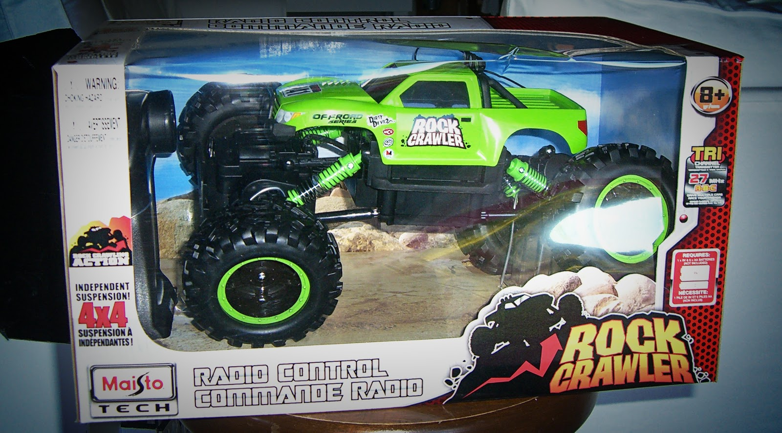 Home  Kids  Life : Scooter & Chewy Review - Maisto R/C Rock Crawler