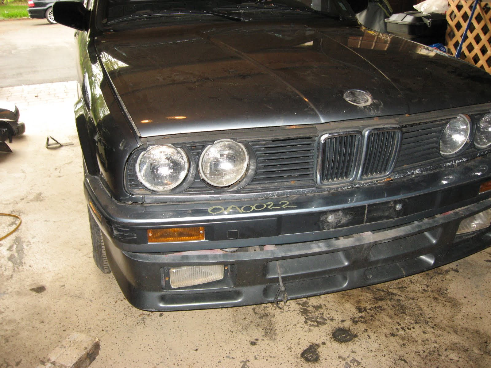 My Project 1987 Bmw 325is E30 Front Bumper Removed