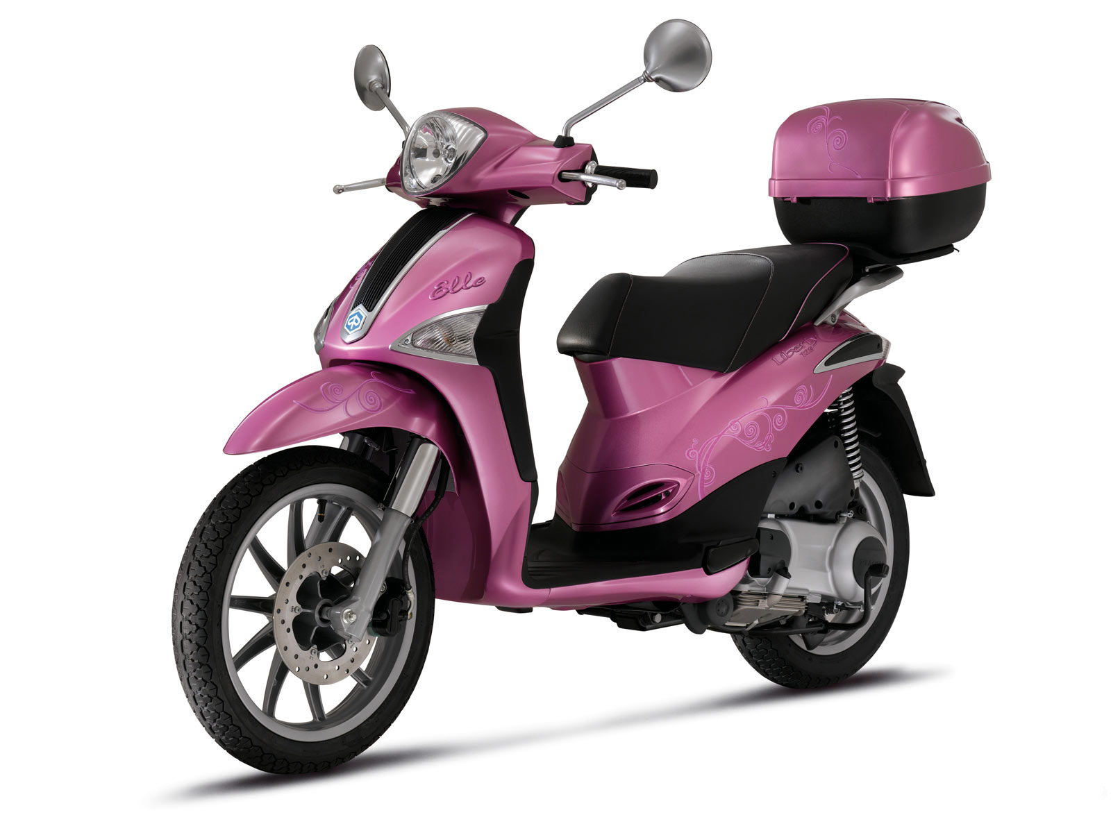 Mopeds: 2010 Piaggio Liberty Elle Scooter