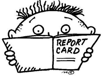 The Screaming Me-Me!!!: Report Card Daze