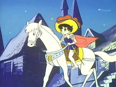 zafiro a caballo partiendo la pana