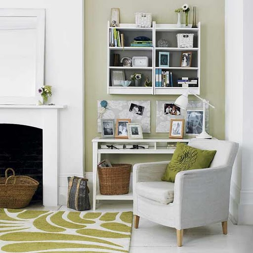 Home Office Space Ideas: Living Room : Reading Corner DesignsInterior Decorating