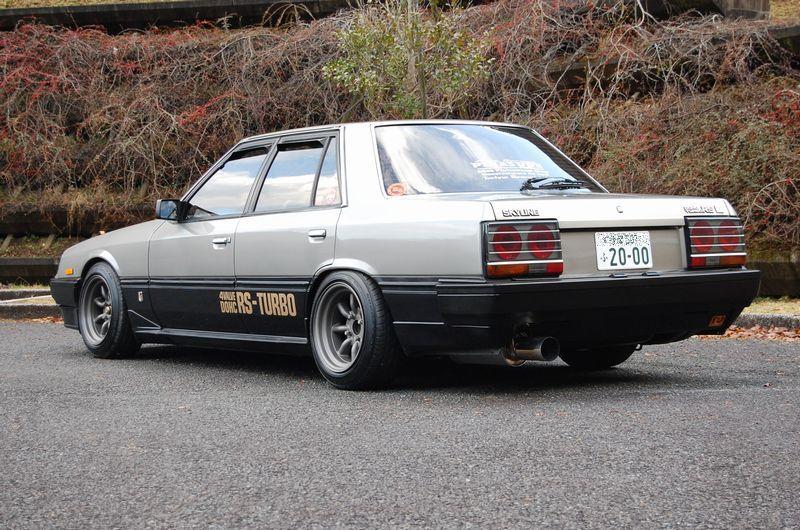 Retro Spirit - Old Car Style: Nissan Skyline DR30