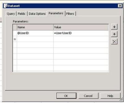 Pass Login User ID As Parameter + SSRS Report | Techno Freak