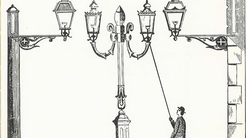 federico b Illuminazione a gas
