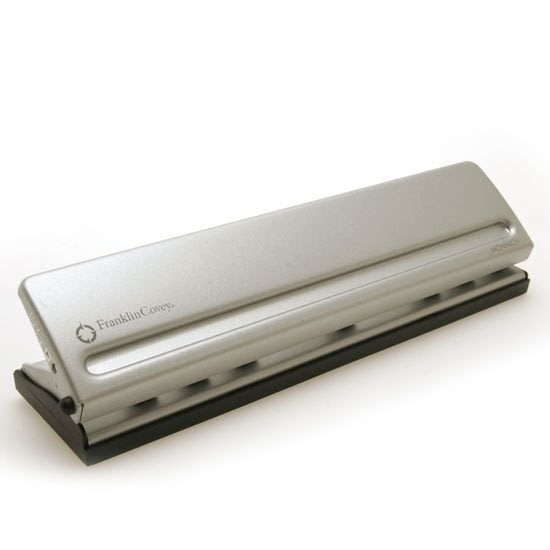 Franklin Covey: 22998 Metal Hole Punch