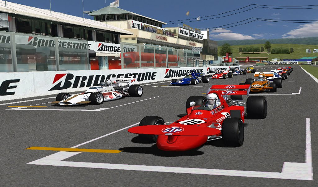 Rfactor F1 track Pack