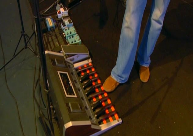 Mike Rutherford Pedalboard