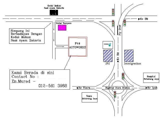P44 Autoworks: Ramadhan Combo Service & Lokasi P44 Autoworks