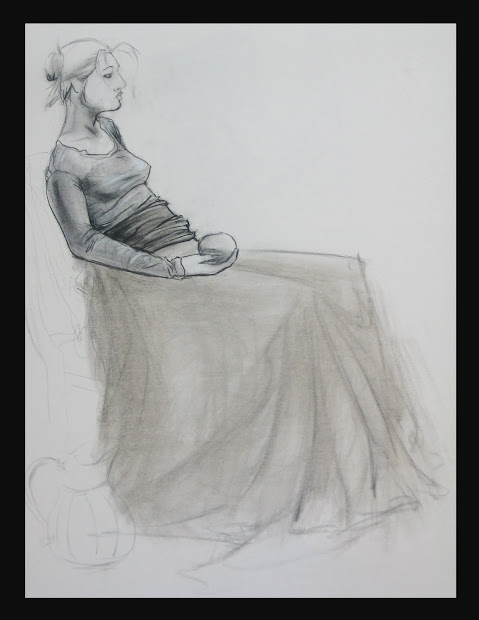 Yamil Medina 20 Minutes Poses Clothed Figure Drawing