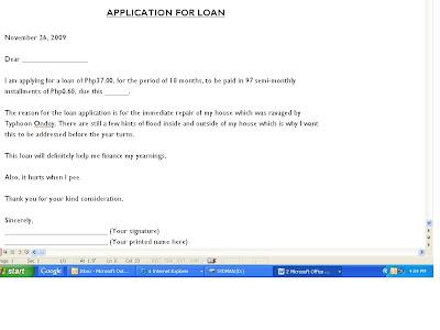 Sample Application Letter For Head Girl   Sample Application