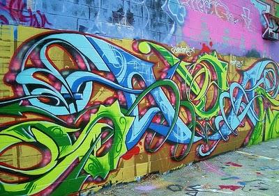 3D Wildstyle Graffiti Letters: Graffiti Creator 3d