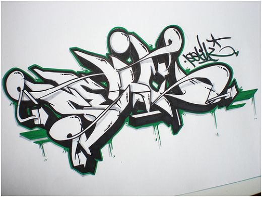 Letter S 3d Wallpaper Graffiti Alphabet Wildstyle Graffiti Blackbook