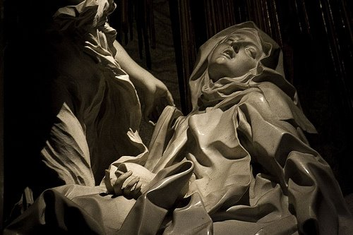 ecstasy of st theresa rome