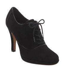 High Heel Oxford Shoes