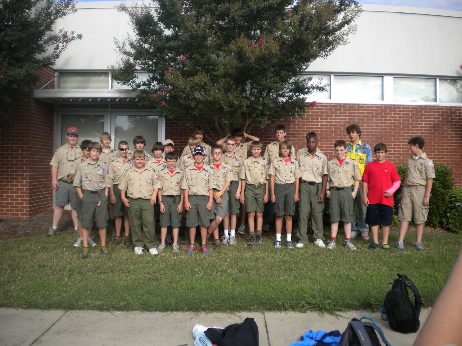 Life In The Letteer Family Jared S Boy Scout Camp