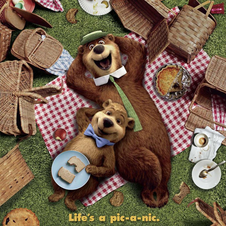 Yogi Bear Quotes Picnic Basket: Saiberspace: Let's Take A Peek In Warner Bros' Yogi Bear