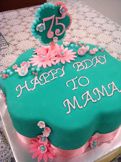 CitsCakes For a moms 75th birthday cake