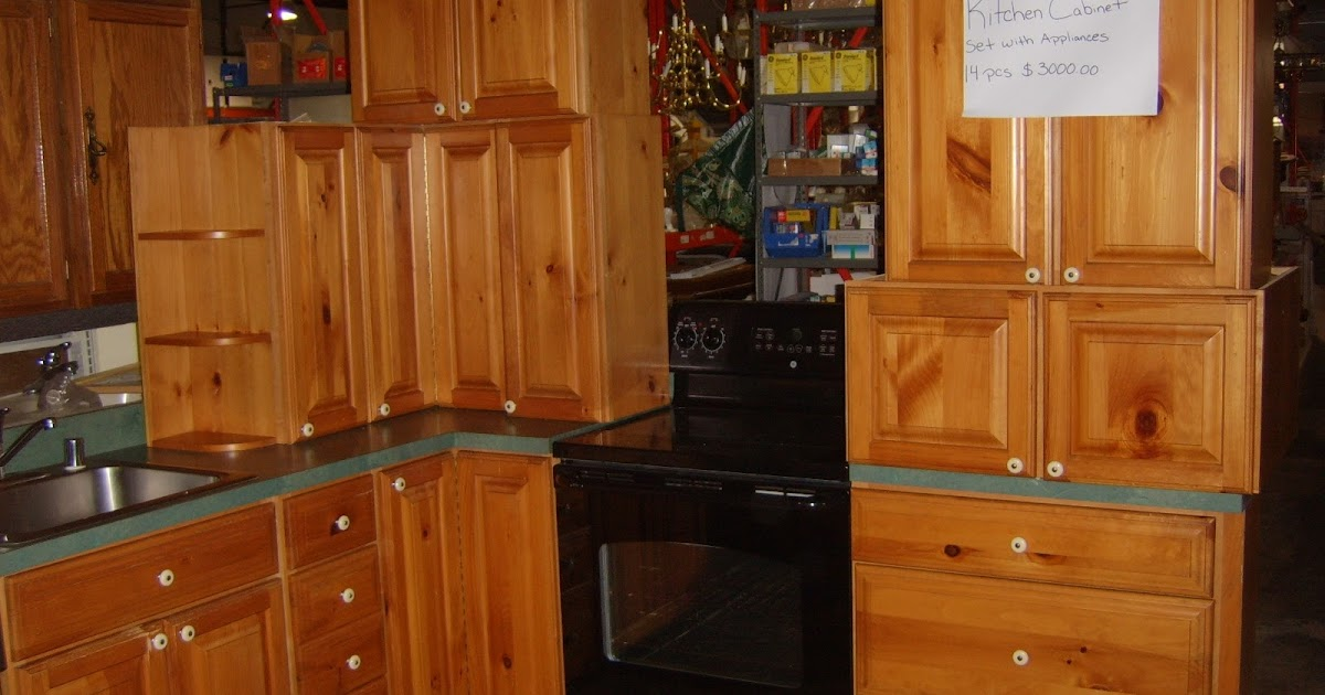 Staring Into The Light: Pine Kitchen Cabinets And