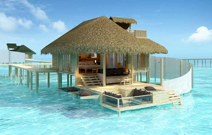 The Beach House At Maldives A Relais Châteaux Resort Has Recently Rebranded Itself As Waldorf Astoria Collection Hotel Private