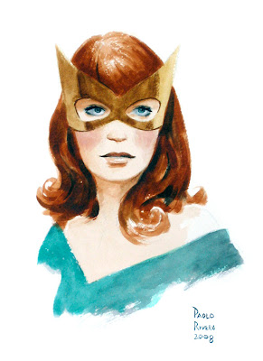Jean Grey Head Sketch
