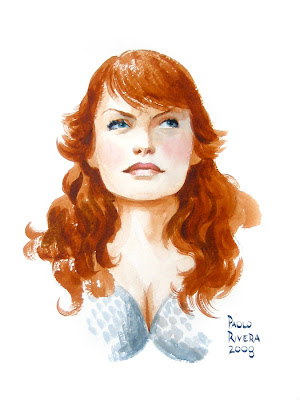 Red Sonja Head Sketch