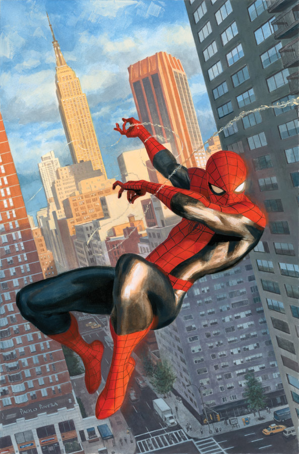The Self-Absorbing Man: Amazing Spider-Man #646 Variant