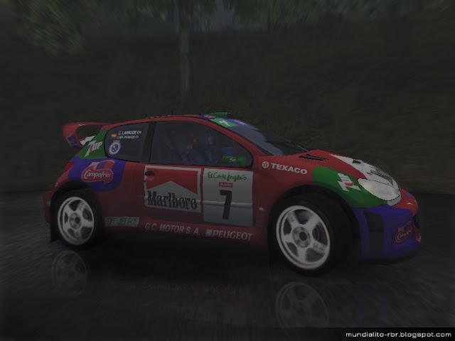 206 WRC Jose Maria Ponce