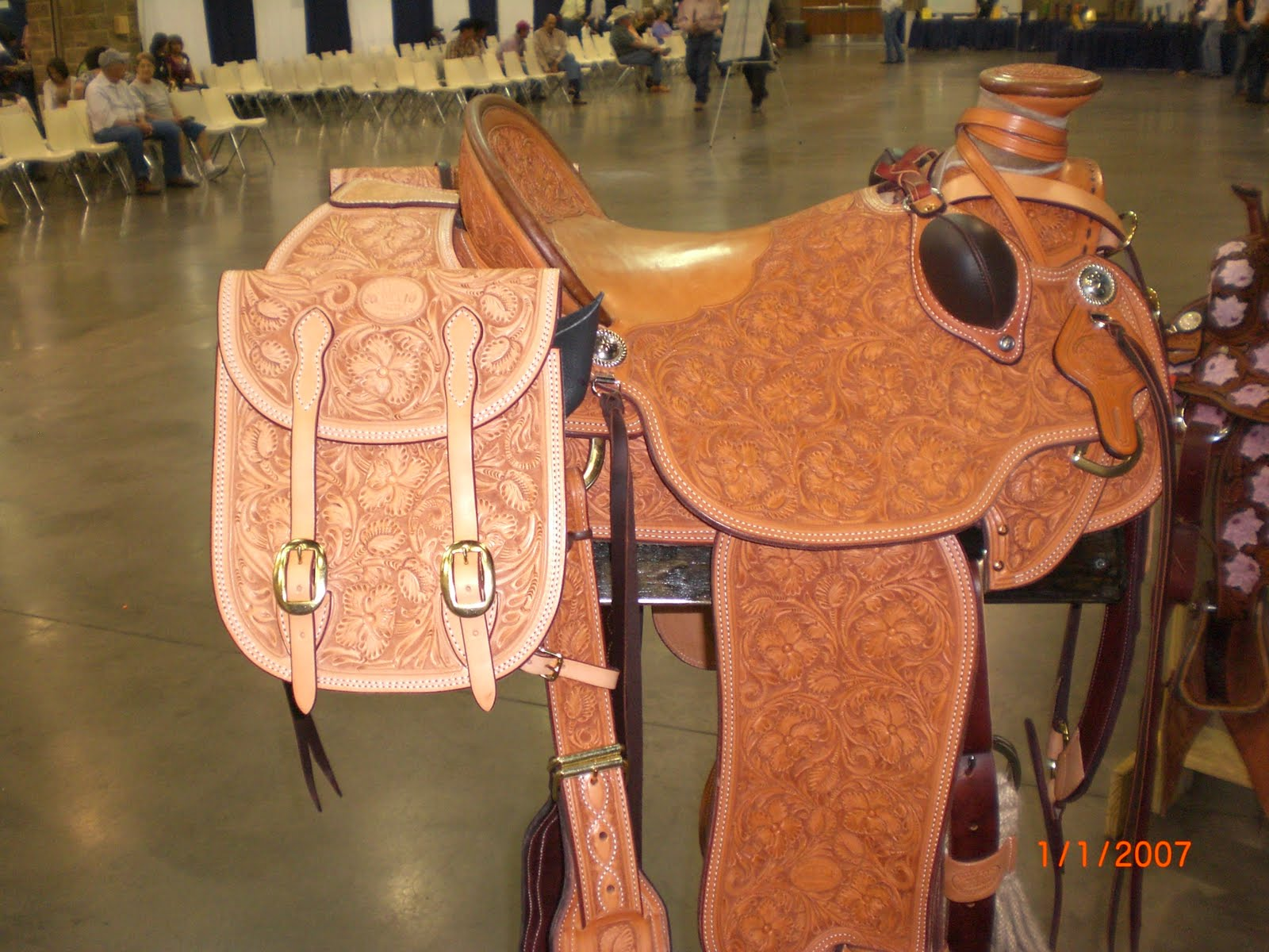 The Grain Side Up!: Texas Saddle & Boot Round~Up, Wichita Falls