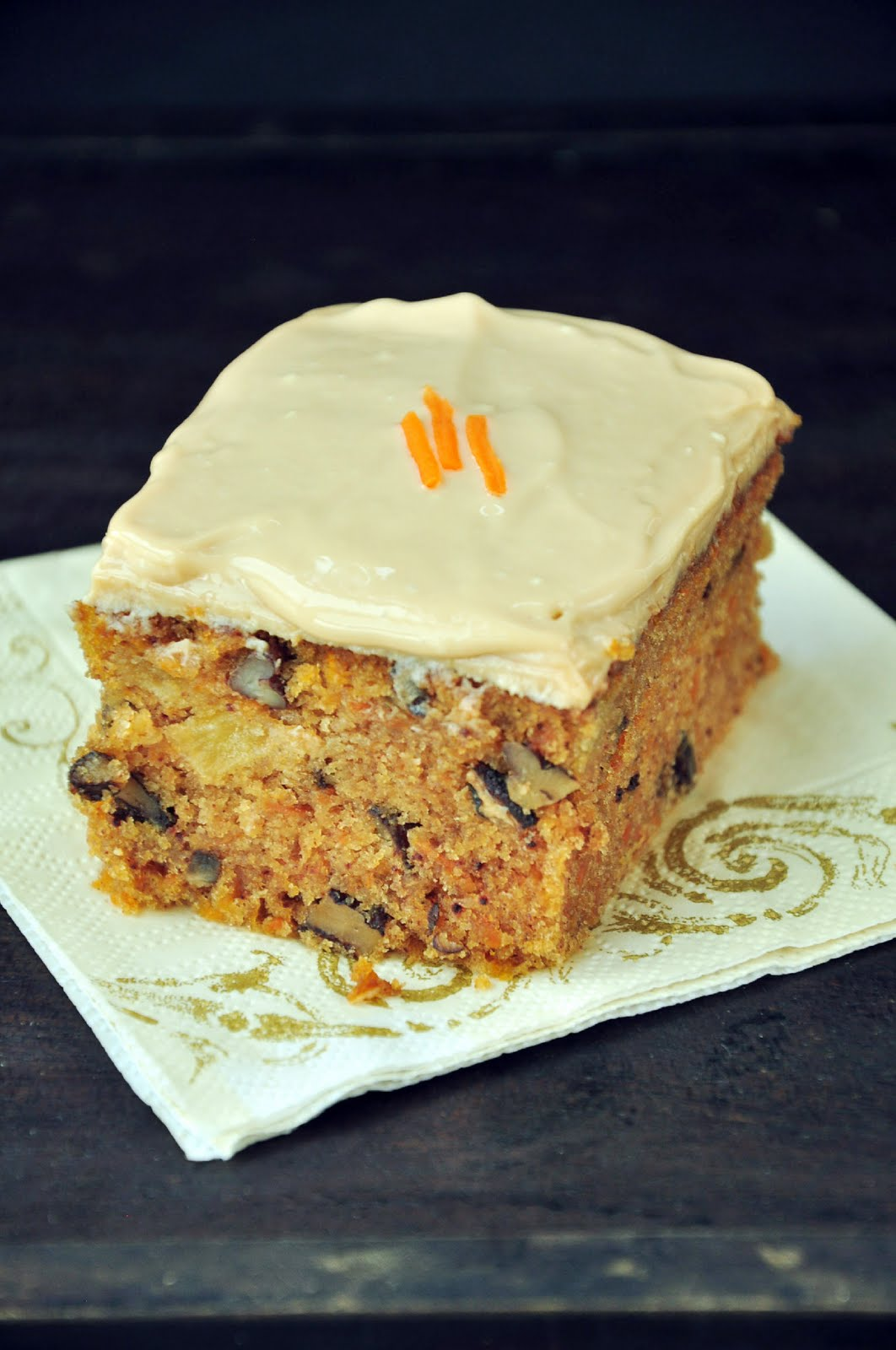 Carrot Cake And Streusel