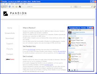 pandion para linux