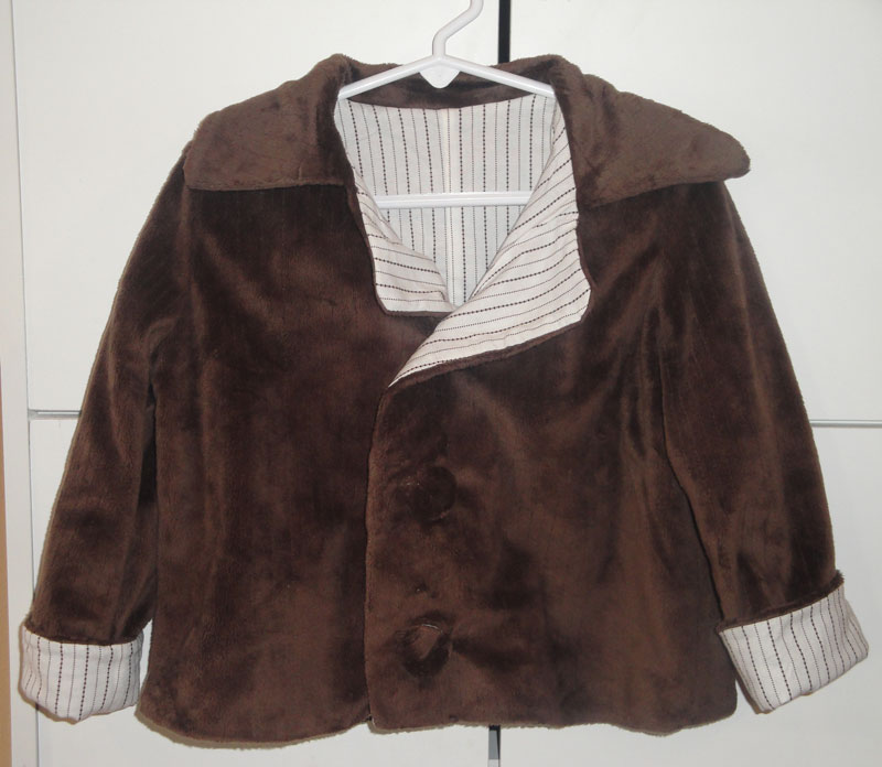 3e1d7c4d334e9 Seamstress In Training: Completed Project: Toddler Dress Coat