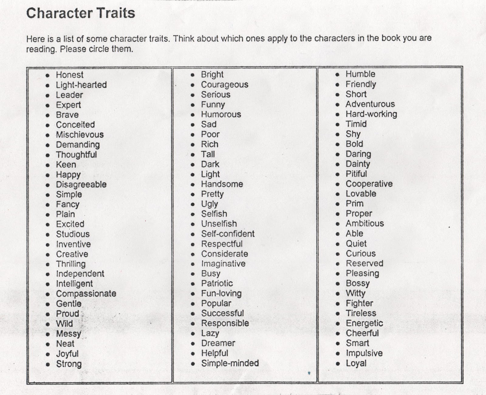 Eight Character Words