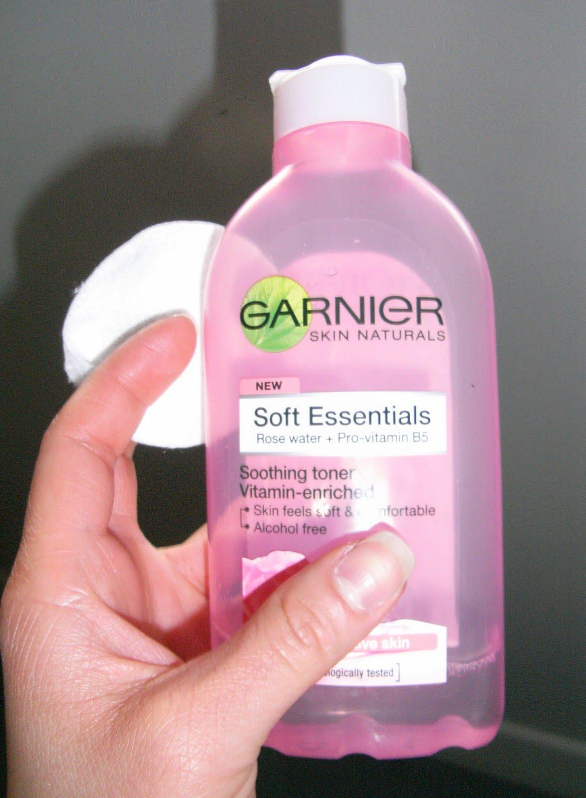 My Style Affair Garnier Soft Essentials Rose Water Toner