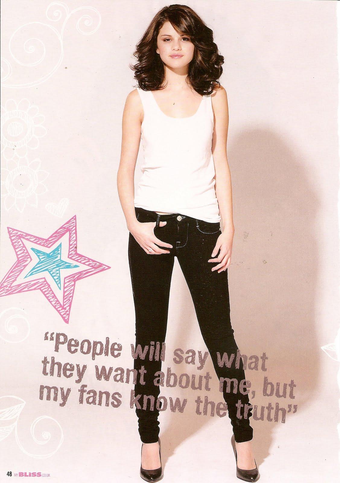 Selena Gomez Winks Her Way Onto i-D Magzine Cover