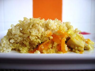 18+t+h+r+e+e+++f+a+t+++l+a+d+i+e+s Pipoka Crumble+de+quinoa+e+vegetais - Quinoa com vegetais