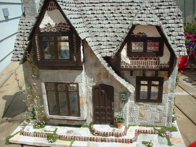 My Greenleaf Dollhouses Greenleaf Glencroft Dollhouse Kit