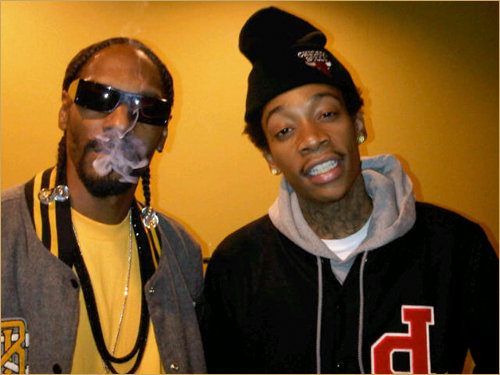 8ea3cbbccb West Coast rapper Snoop Dogg jumps on yet another artist song repping their  city  Wiz Khalifa