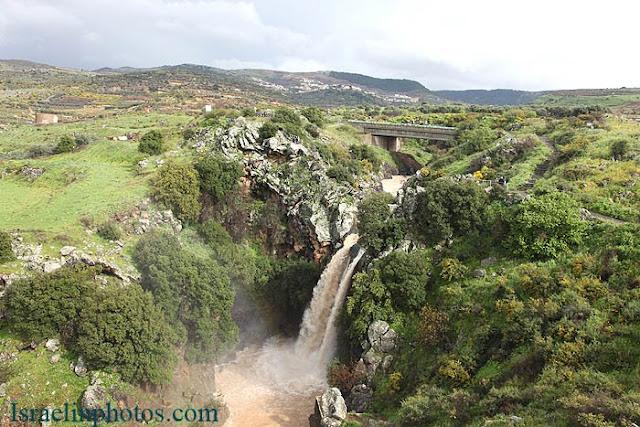 ישראל בתמונות: רמת הגולן, מפל סער