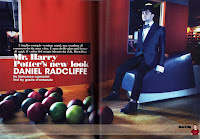 L 'Uomo Vogue magazine (Italy)
