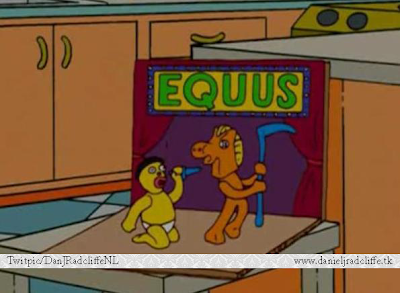 Fun Fact: Equus in The Simpsons